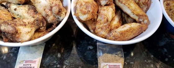 Delicious and Easy Chicken Wings with Save The Day Seasonings