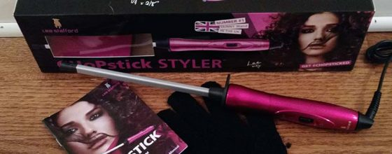 Lee Stafford Ceramic Curling Wand for Corkscrew Curls – Review and Giveaway