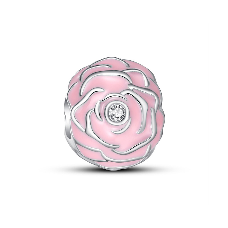 Romantic-pink-rose-charm